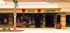 Hilton Head Wine & Spirits Shop exterior of liquor store